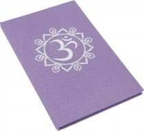 Notebook, Diary - OM purple