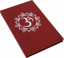 Notebook, Diary - OM red