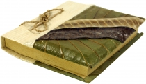 Small notebook banana leaf