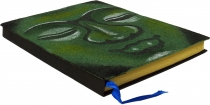 Notebook, Diary - Budha green