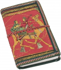 NotebookDiary with indian motive - red