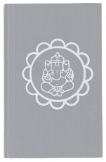 Notebook, Diary - Ganesh Mandala grey