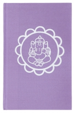 Notebook, Diary - Ganesh Mandala purple